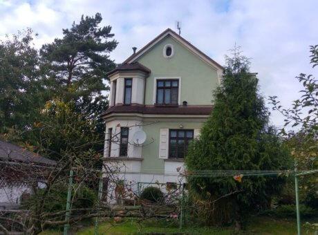 Infrapanely stylová vila Ostrava Radvanice