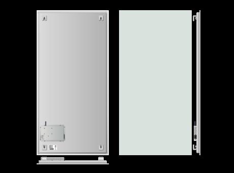 Infrapanel bezrámový - elegantní, dálkově ovládaný termostatem, 1000W, 120 x 60cm