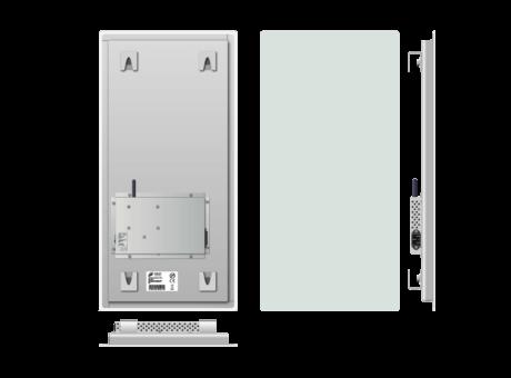 Infrapanel bezrámový - elegantní, dálkově ovládaný termostatem, 230W, 30 x 60cm