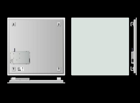Infrapanel bezrámový - elegantní, dálkově ovládaný termostatem, 500W, 60 x 60cm
