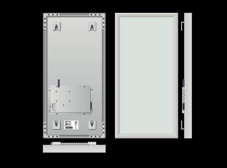 Infrapanel rámový, dálkově ovládaný termostatem, 230W, 30 x 60cm