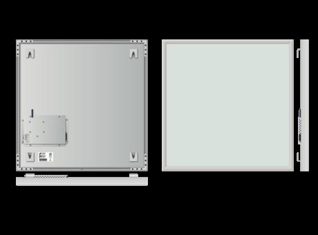 Infrapanel rámový, dálkově ovládaný termostatem, 500W,  60 x 60cm