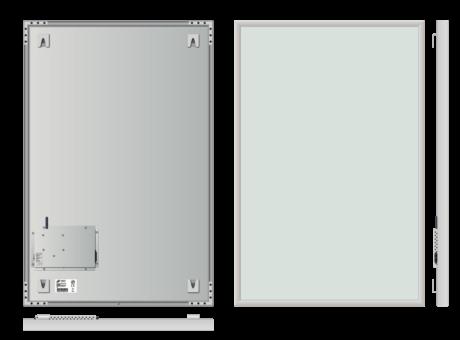 Infrapanel rámový, dálkově ovládaný termostatem, 800W, 90 x 60cm