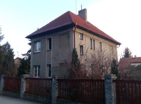 Infrapanely RD po rekonstrukci v Praze
